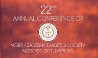 22nd Annual Conference of North Eastern Diabetes Society 2017, Dimapur